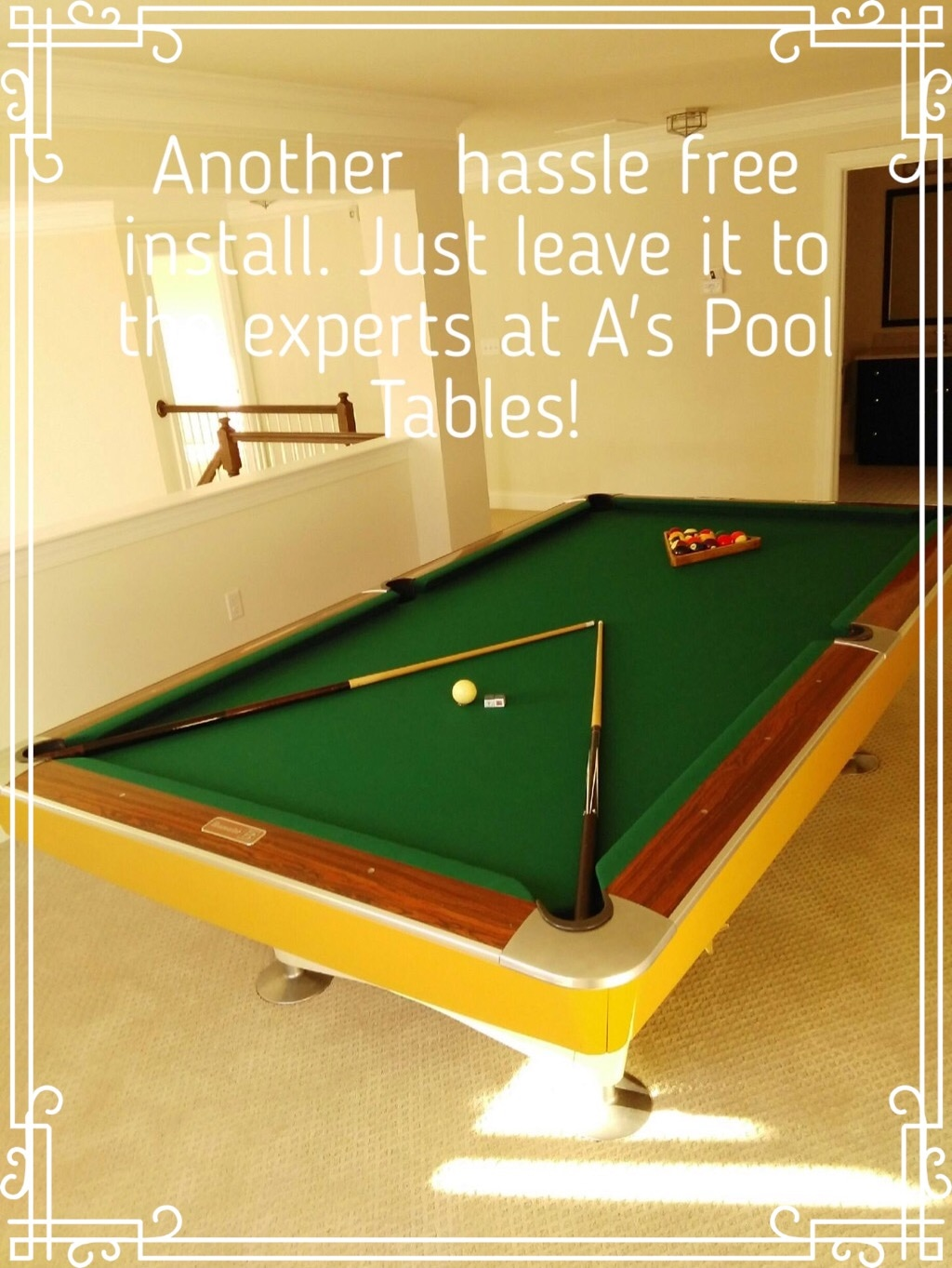 Antique Pool Tables For Sale